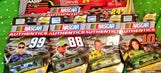 Fans show off their NASCAR holiday gifts