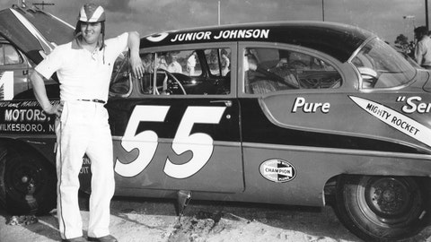 No. 55, Junior Johnson, 5