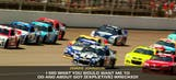 """5-Time """"About Got (Expletive) Wrecked"""" For Listening To NASCAR"""