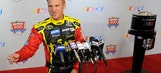 #snOMG: Clint Bowyer would rather talk about the weather than Danica and 'The King'
