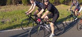 Pedal to the pavement: Jeff Gordon trades his fire suit for some spandex