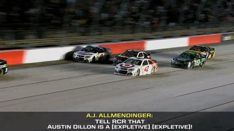 2014: 'Tell RCR that Austin Dillon is a (expletive) (expletive)'