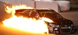 GIF It Up: A fiery night at Richmond International Raceway