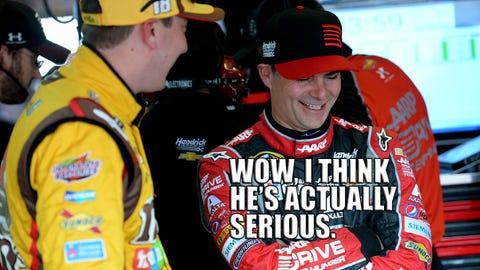 NASCAR Wonka examines Kyle Busch versus Kansas Speedway