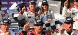 Baby on board: Rookie Kyle Larson is going to be a dad