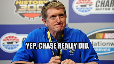 NASCAR Wonka imagines a Father's Day race between Bill and Chase Elliott