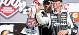 Winner's Weekend: Johnson gets a selfie and a checkered flag for Father's Day