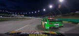 Best in-car audio: Danica Patrick gets fired up after a bump from her boss