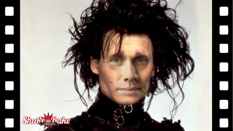 NASCAR movie characters: Carl EdwardsScissorhands