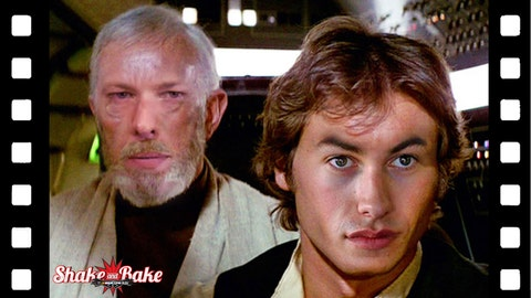NASCAR movie characters: Han SoLogano and Obi-Wan Kenoselowski