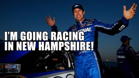 Where is Carl Edwards going?