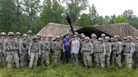 Photos: Dale Earnhardt Jr. spends the day with the National Guard