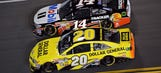 Trading paint: JGR, SHR planes bump into each other on the ground