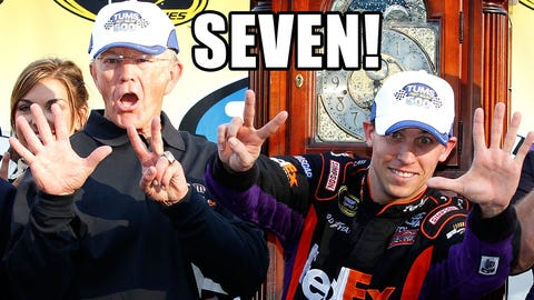 Photos: @NASCAR_Wonka investigates Darian Grubb's suspension