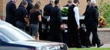 Mourners gather for driver hit by Tony Stewart's car