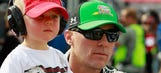 'Pow pow training': Keelan Harvick practices UFC moves on dad's face