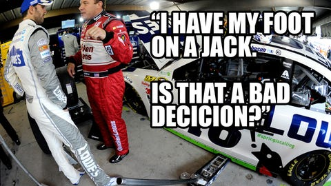 Have Johnson and Newman made up? @NASCAR_Wonka investigates