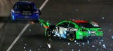 Tough love: Danica and Ricky have history of on-track clashes