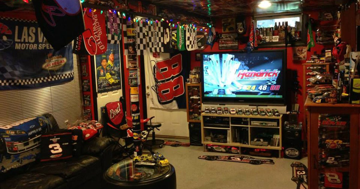 This Nascar Themed Basement Is Absolutely Amazing Fox Sports