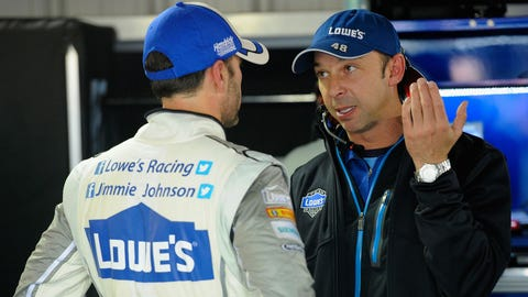 Photos: Chad Knaus and his infamous wheel spacers