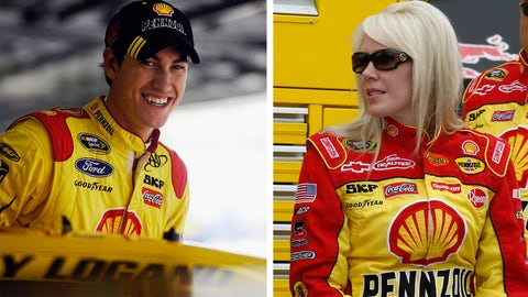 For Joey Logano: A fire suit for his bride