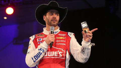 NASCAR driver New Year's resolutions: Jimmie Johnson