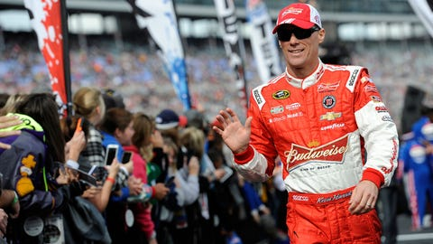 NASCAR driver New Year's resolutions: Kevin Harvick