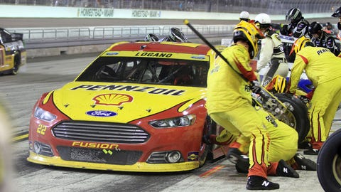 NASCAR driver New Year's resolutions: Joey Logano