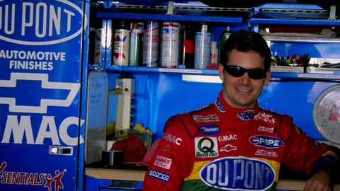 How long has Jeff Gordon been planning to step aside?