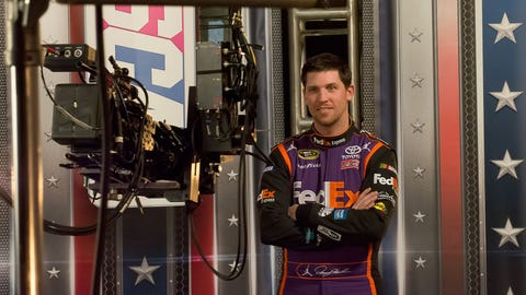 Behind the scenes of the FOX Sports hangar shoot