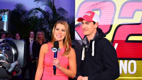 Jenny Taft and Joey Logano