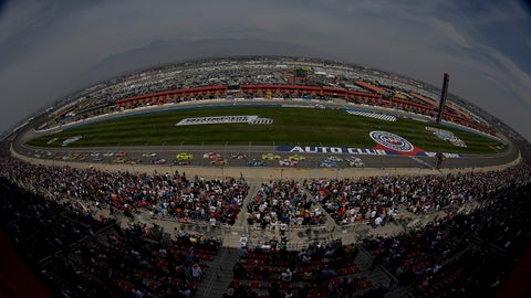 NASCAR Wonka's ridiculous Fontana predictions