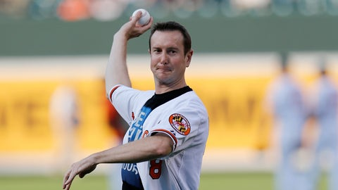 Remembering first pitches from NASCAR's biggest stars