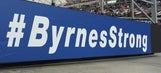 Lots of love for Steve Byrnes at Bristol Motor Speedway
