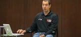 Kyle Busch's (fake) presentation on No. 18 fill-in driver David Ragan