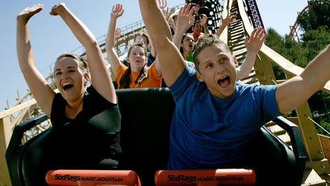 Six Flags Amusement Park