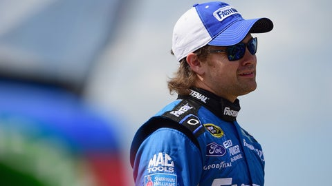 Still shorter: Ricky Stenhouse Jr.'s mullet
