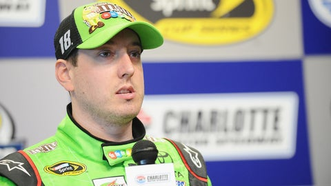 Still shorter: Kyle Busch's recovery time for his broken leg