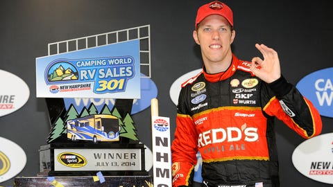 Were Busch and Keselowski racing to parenthood? NASCAR Wonka 'investigates'