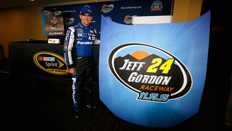BIG ideas for honoring Jeff Gordon