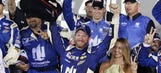 Dale Jr. talks win, Dillon crash with 'NASCAR Race Hub'