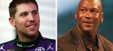 Michael Jordan made a bet with Denny Hamlin before Chicagoland