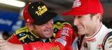 Welcome to fatherhood! NASCAR Wonka 'checks in' on Kasey Kahne