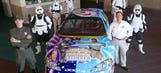May the downforce be with you: 'Star Wars' paint schemes in NASCAR