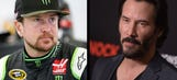 'Whoa!' Kurt Busch shares a passion with actor Keanu Reeves