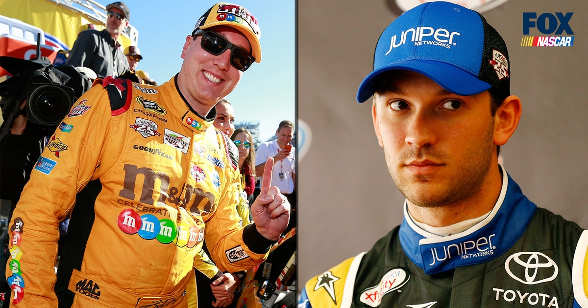 West Houston Vw >> Kyle Busch can drive anything, including teammate's VW Beetle | FOX Sports