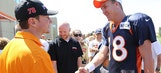 NASCAR Meets NFL: Kurt Busch Drops By Broncos' Camp