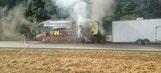 Bus of Jeff Gordon's Sponsor Catches On Fire In Georgia