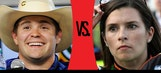 Ricky vs. Danica: Kansas – Who's On Top This Week?