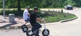 Pedals Of Fury: Justin Allgaier & James Buescher Tricycle Race (Video)